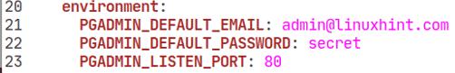 Install pgAdmin with Docker