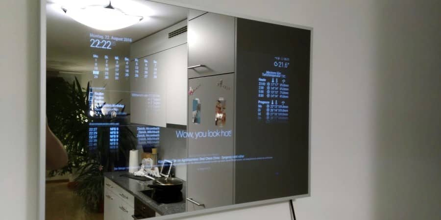magic mirror with Raspberry Pi