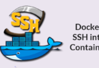 Docker SSH into Container