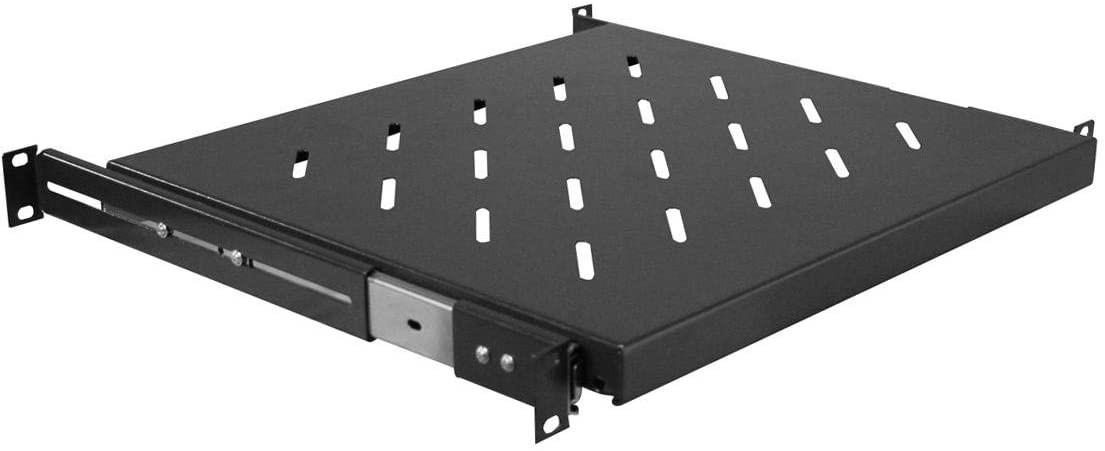 "Gator RackWorks Rackmount Sliding Accessory shelf; 1U, 14"" Deep"