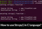 How to use Strcpy() in C language?