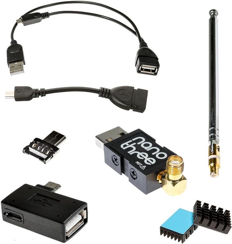 NESDR Nano 3 OTG - RTL-SDR Bundle