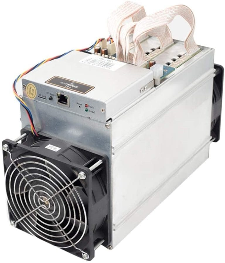 how much power does a bitcoin miner use
