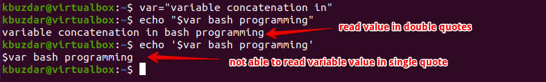BASH - Concatenating