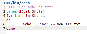 Modifying the Bash Script Created Above and Running it1