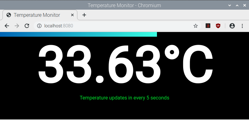 Temperature Monitor as you can see