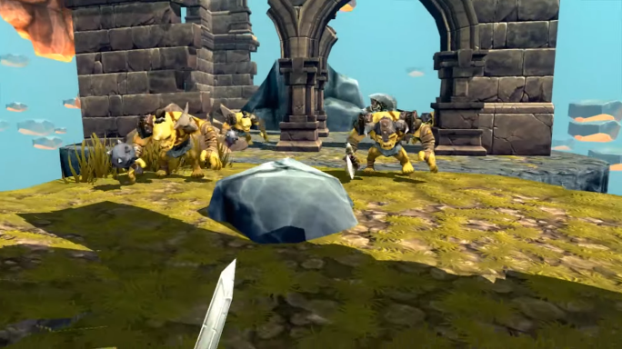 Trickster VR Horde Attack1