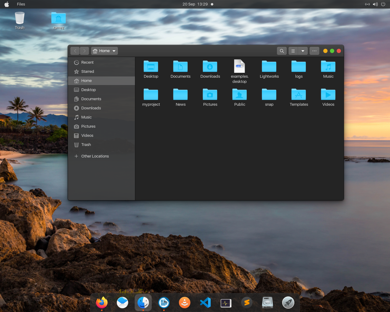 How To Make Ubuntu 20 04 Look Like Mac Os Linux Hint