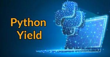 Python Yield