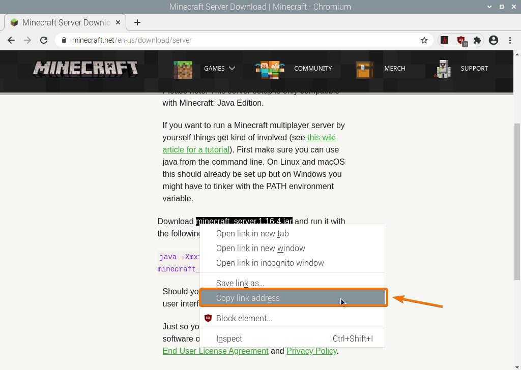 How To Install Minecraft Server In Raspberry Pi 4 Linux Hint