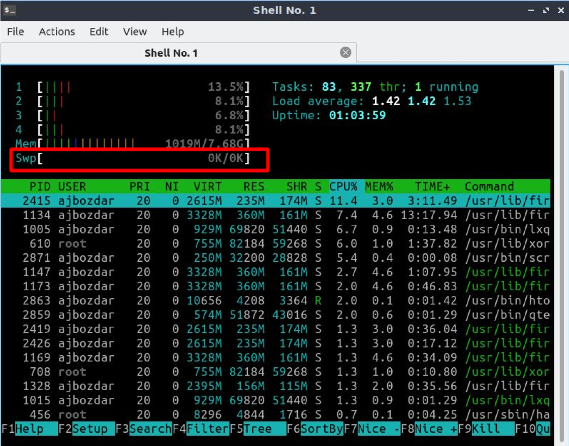 How to Check Swap Memory in Linux