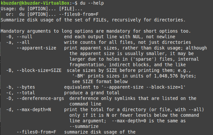 "Sort ""du"" Command by Size- Output Largest to Smallest"