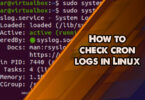 How to check cron logs in Linux