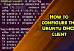 How to configure the Ubuntu DHCP client