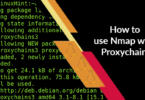 How to use Nmap with Proxychains